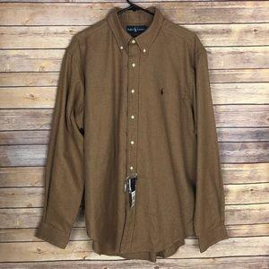 NWT POLO RALPH LAUREN Button Down Shirt Size XL